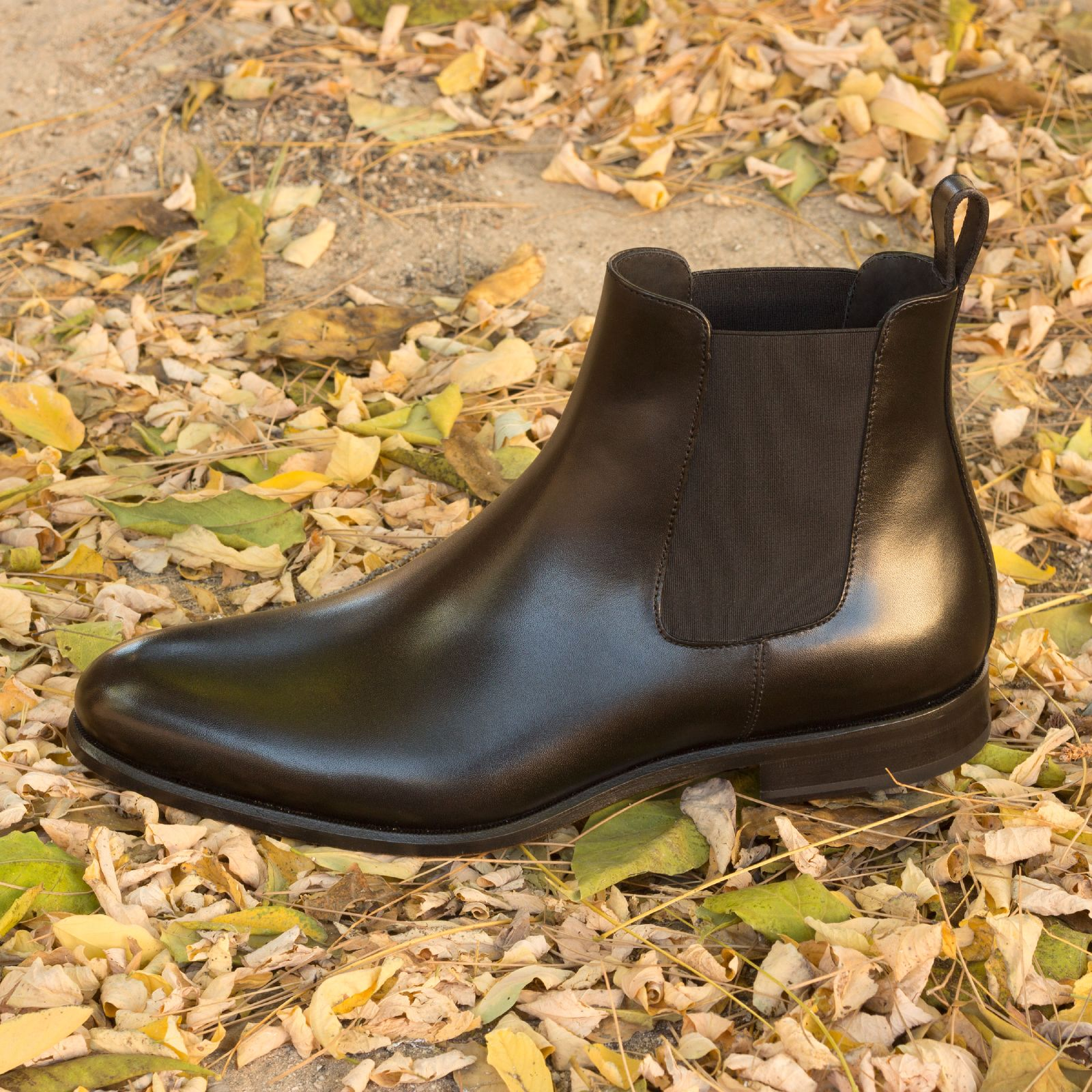 Chelsea boot  black box calf : 250€