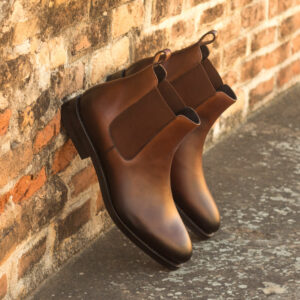 Chelsea boot med brown painted calf : 260€
