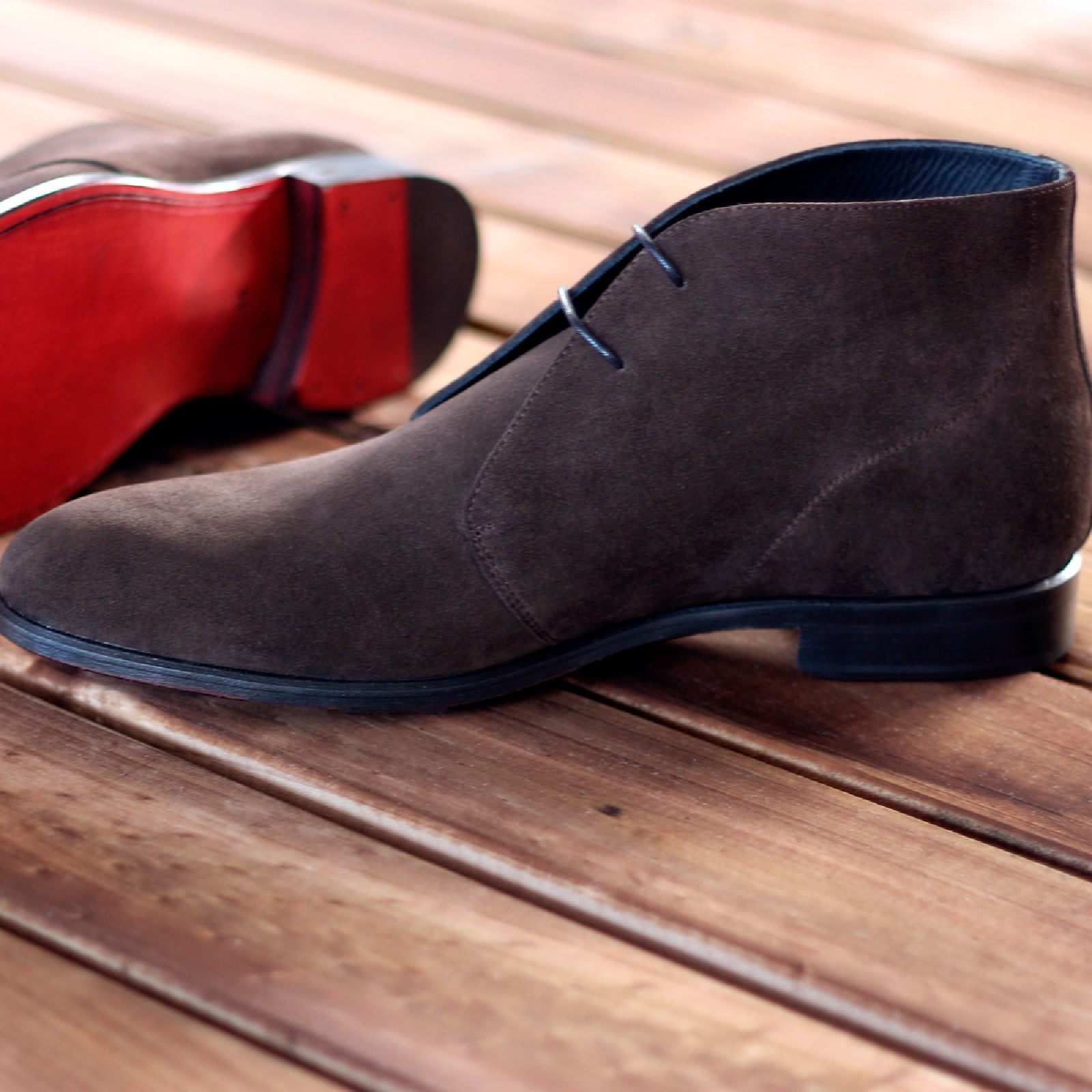 Chukka boot dark brown lux suede : 250€