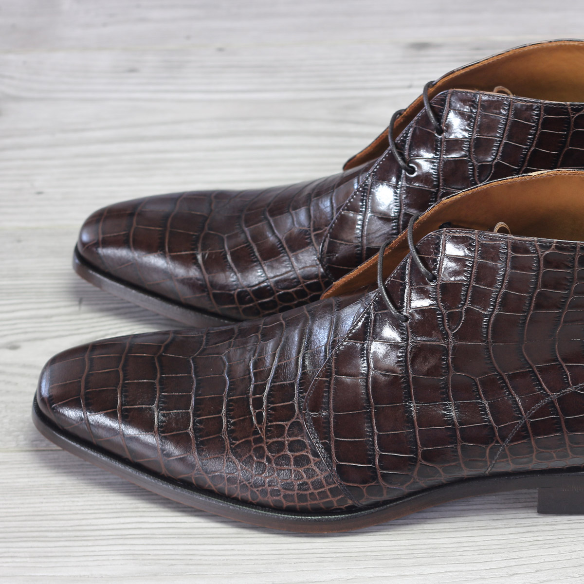 Chukka boot croco brown : 250€