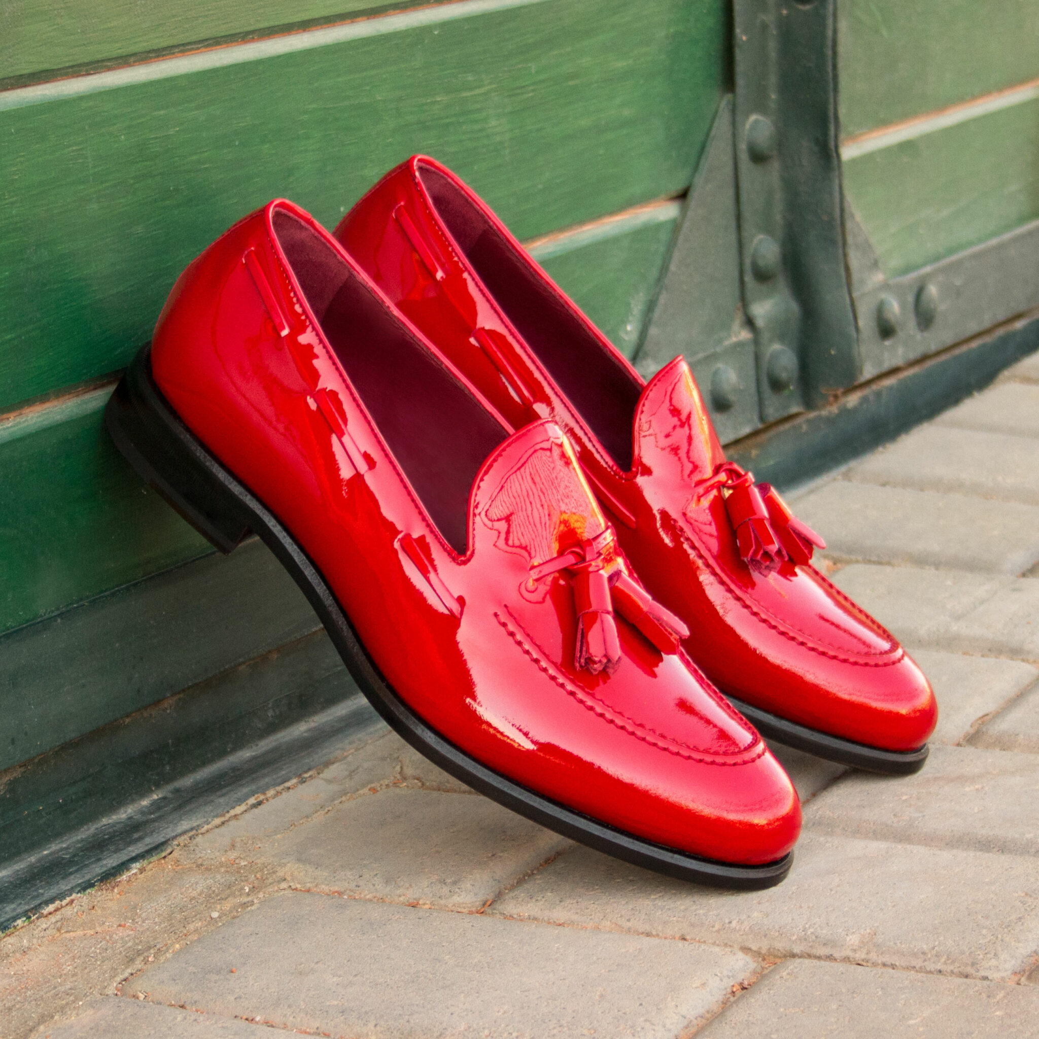 Loafer red patent : 240€