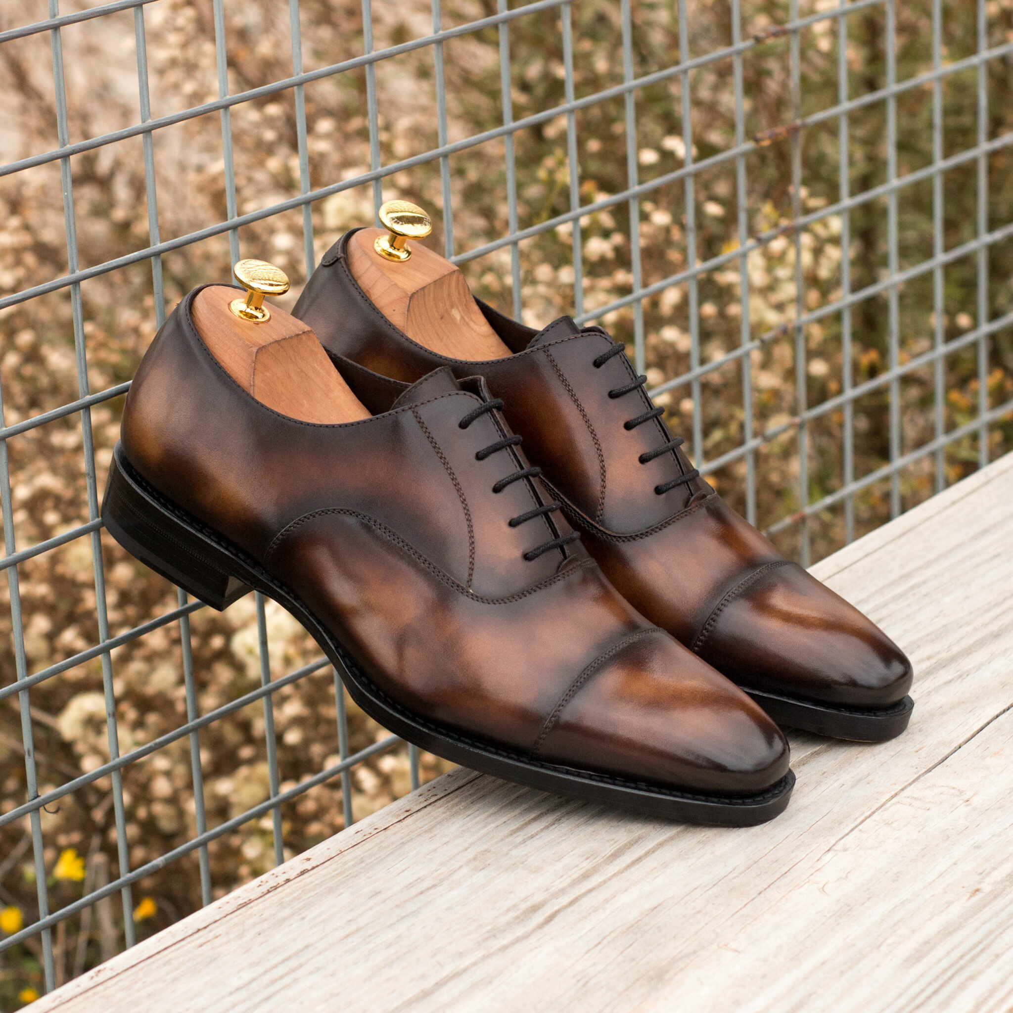 Oxford hanmade patina brown : 330€