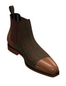 Chelsea boot med brown : 169 €