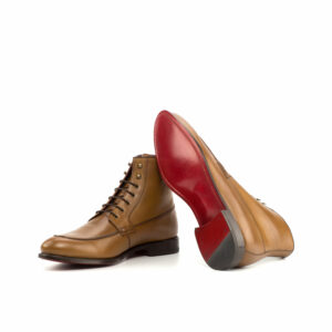 Sole: red leather sole plain