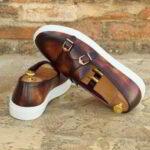 Belgian d monk sneakers