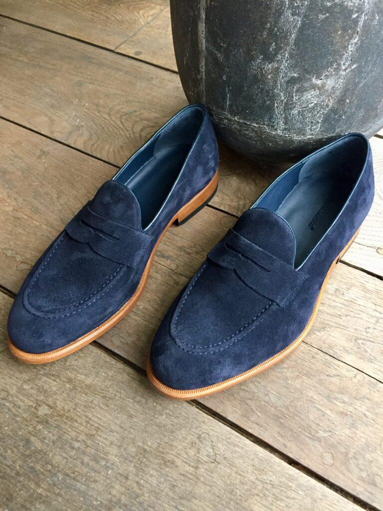 Loafer Navy Suede