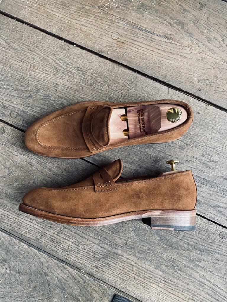 Brown Suède Goodyear Flex Loafers 145€